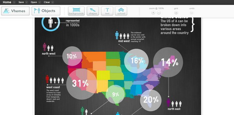 26 free infographics tools and data visualization softwares quertime