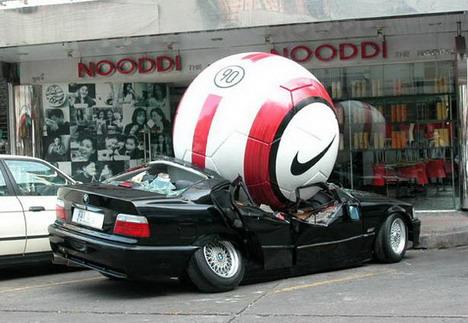 huge ball: