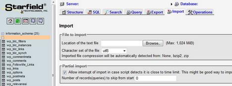 import_mysql_database_file_to_phpmyadmin