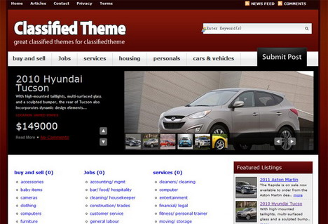 14 Best WordPress Classified Ads Themes, Plugins and Software - Quertime