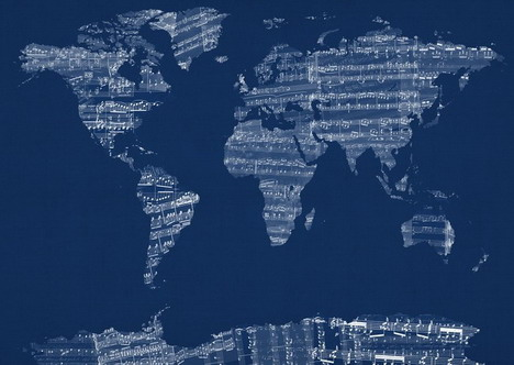old_sheet_music_world_map
