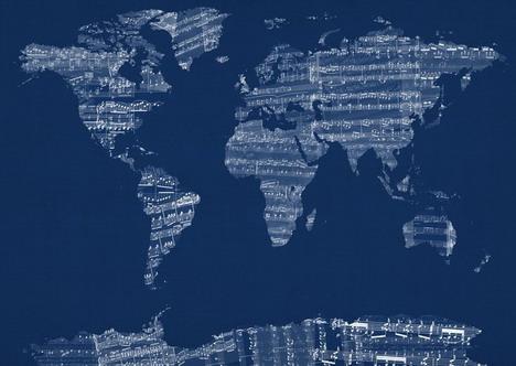 old_sheet_music_world_map