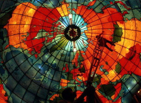 stained_glass_world_map
