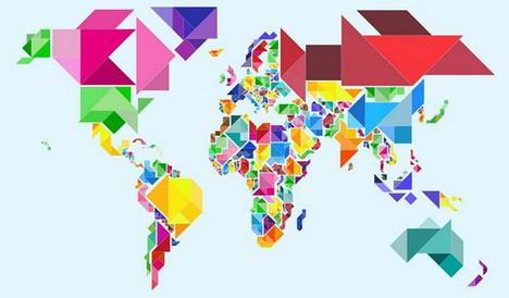 tangram_abstract_world_map