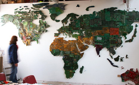 world_map _made_with_computer_parts
