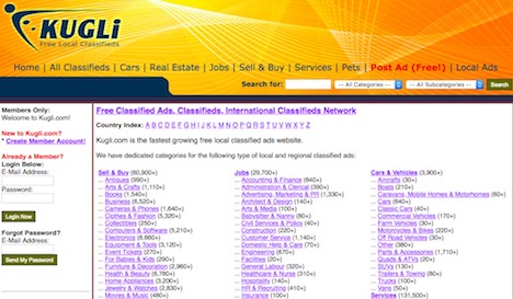 d244142acc Top 70 Best Free Classified Ads Posting   Listing Web Sites - Quertime