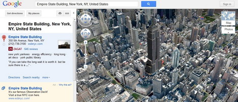 tilting_different_view_of_google_earth
