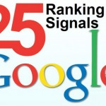 25 Ranking Signals Google Use to Rank Websites in Search Results
