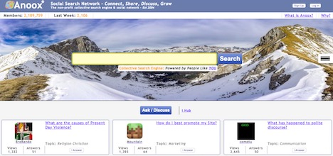 anoox-social-search-network