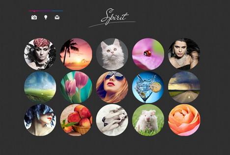 circles_web_design_for_portfolio_sites