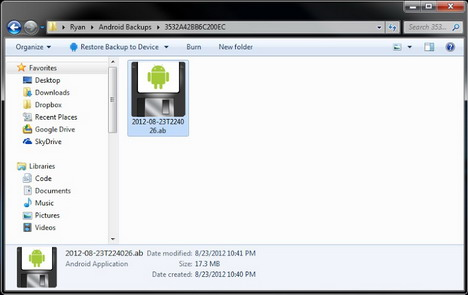 create-android-full-system-backup