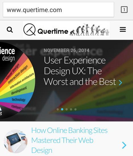 quertime-mobile-version
