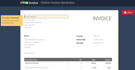 top 6 free online receipt and invoice maker tools quertime