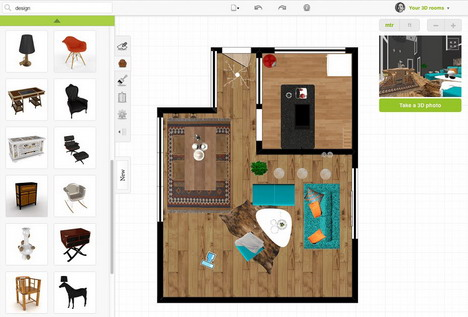 10 online tools for home designing quertime for Online bedroom planner