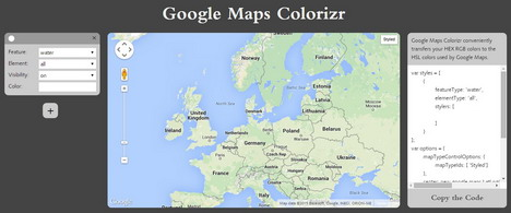 google-maps-colorizr