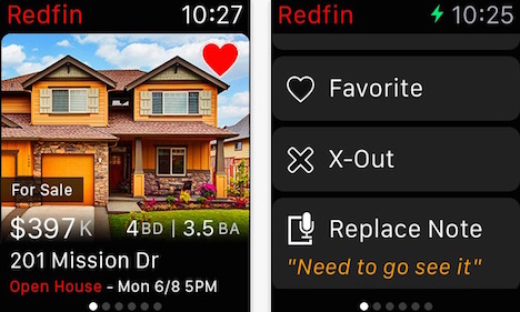 redfin-apple-watch-app