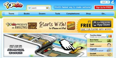 toondoo-website-create-comic