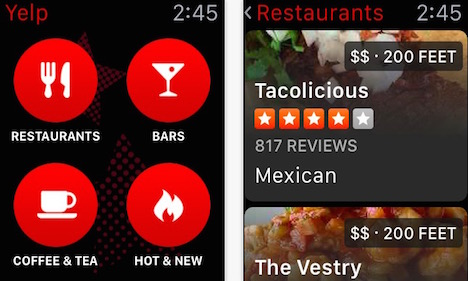 yelp-apple-watch-app