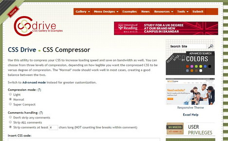 css-drive-css-compressor