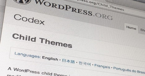 develop-wordpress-child-theme