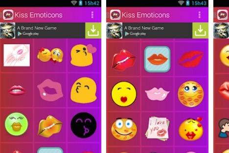 kiss-emoticons