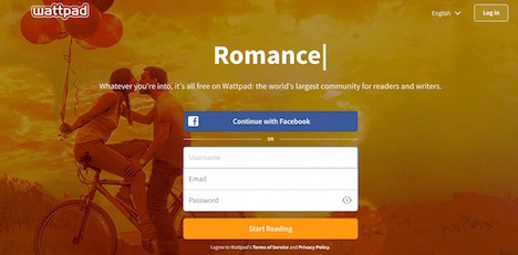 wattpad-writing-website