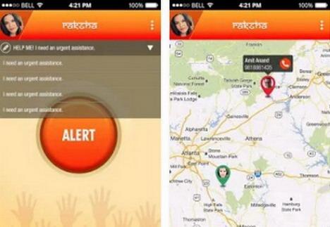 raksha-women-safety-alert