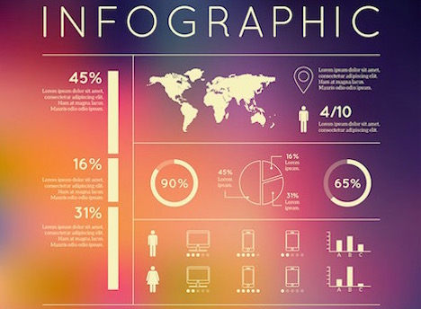 Infographic Ideas 3d paper infographic powerpoint template free download : 30 Sites to Download Free Infographic Templates - Quertime