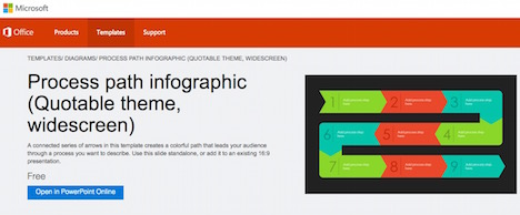 microsoft office infographic templates