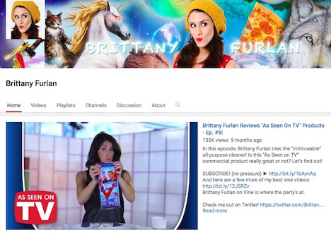brittany-furlan-youtube