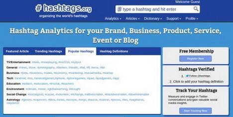 hashtags-org