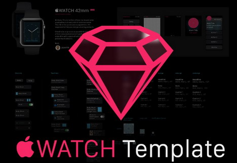 apple-watch-gui-sketch-template