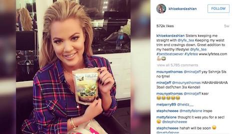 khloe-kardashian-endorses-product