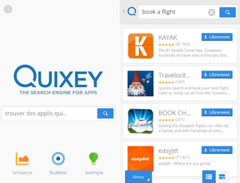 Quixey Search Engine For Apps