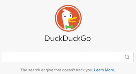 duckduckgo does not track you