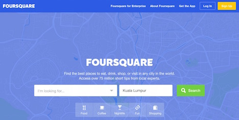 foursquare-business-directory