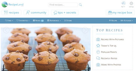 Top 11 best recipe search engines and websites quertime recipe land search engine forumfinder Gallery