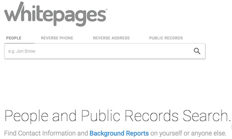 whitepages-people-public-records-search