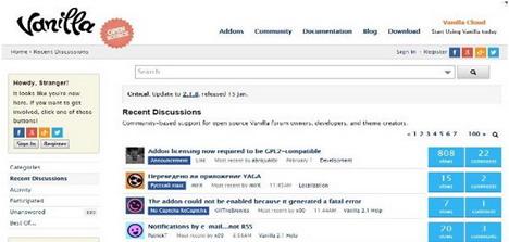 vanilla-forums