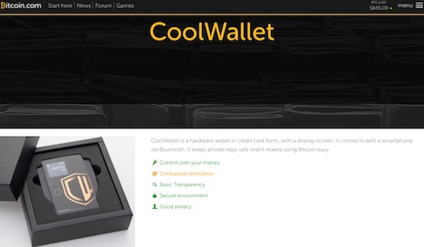 bitcoin-coolwallet