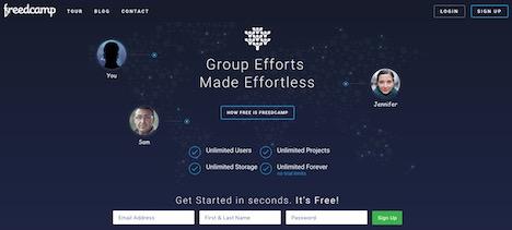 freedcamp-workflow-management-tools