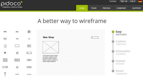 pidoco-wireframe-tool
