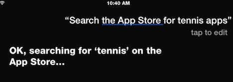 siri-to-search-launch-app