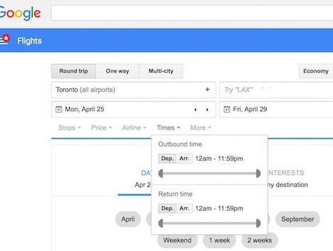 google-flights-basic-search