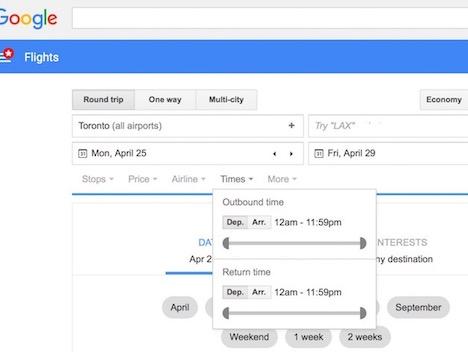 google-flights-basic-search