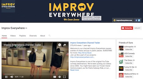 improv-everywhere-youtube-prankster-channel