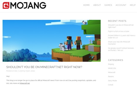 mojang-gaming-web-design