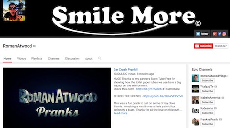 romanatwood-youtube-prankster-channel