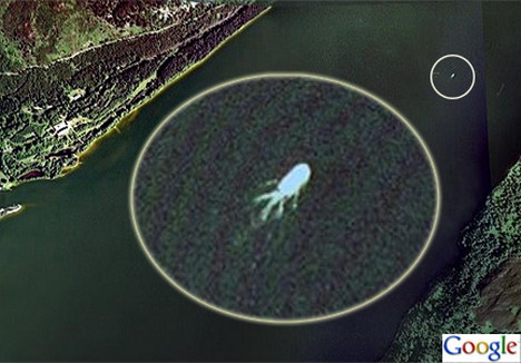 Weird Photos From Google Earth 7