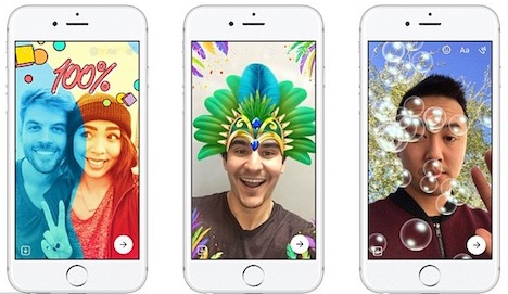 facebook-messenger-copy-snapchat-filters-stickers